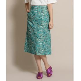 anatelier / アナトリエ Nell(ネル)ドッグ柄台形スカート