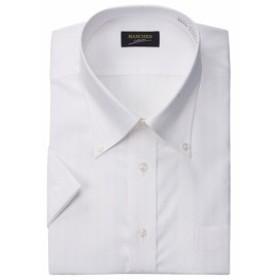 MANCHES ドゥエB.Dシャツ(半袖) ホワイト 1057-8252-1 [3L・4L・5L・6L・7L・8L]【大きいサイズ】【メンズ】