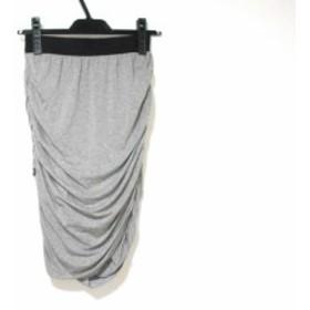 アプワイザーリッシェ Apuweiser-riche スカート サイズ1 S レディース グレー×黒【中古】