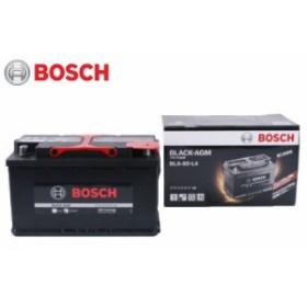 【送料無料】BOSCH ボッシュ 輸入車用 新車 メーカー純正搭載品 BLACK-AGM バッテリー BLA-80-L4