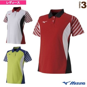 ミズノ テニス・バドミントンウェア(レディース)  ゲームシャツ/レディース(62JA9214)