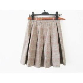 中古 DOUBLE STANDARD CLOTHING ダブルスタンダードクロージング ミニスカート レディース