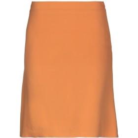 《期間限定セール開催中!》CRUCIANI レディース ひざ丈スカート オレンジ 42 100% シルク