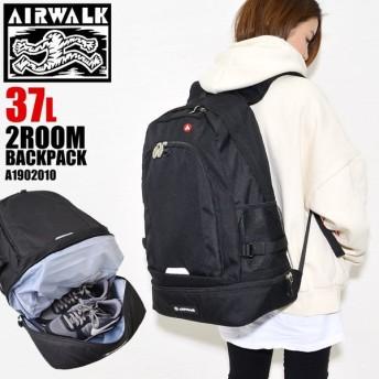 リュック 大容量 AIR WALK エアウォーク リュックサック 大容量 デカリュック マザーズバッグ レディース メンズ 37L a1902010 通学