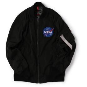 [マルイ]【セール】ALPHA: SHIPS別注 ボンディング MA-1 【NASA】/シップス(メンズ)(SHIPS)