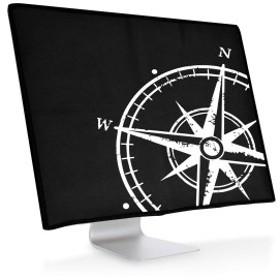 Apple iMac 21.5' 用 モニター防塵カバー - PC カバー ディスプレイ 保護カバー - パソコン ホコリ 液晶カバー