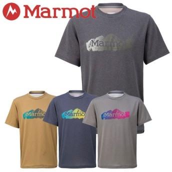 クリアランスセール30%OFF!【2点までメール便送料無料】マーモット Heather Maroon Bells H/S Crew Tシャツ メンズ TOMNJA63