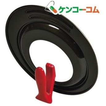 ロッソ・ブラック シリコーン加工 窓付スタンドパンカバー 24-28cm用 ( 1コ入 )
