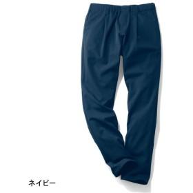 テーパードパンツ パンツ UVケア レディース 大きいサイズ 40代 30代 吸汗 速乾 クロップド おしゃれ きれいめ エレガント ネイビー S M L LL 3L