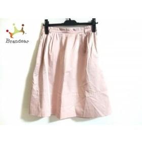 ジャスグリッティー JUSGLITTY スカート サイズ2 M レディース 美品 ライトピンク    値下げ 20191015