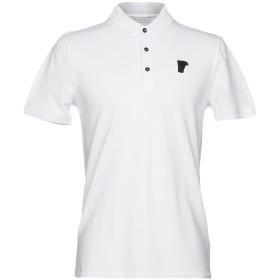 《セール開催中》VERSACE COLLECTION メンズ ポロシャツ ホワイト S 100% コットン