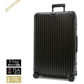 リモワ RIMOWA メンズ・レディース スーツケース TOPAS STEALTH トパーズ ステルス TSAロック E-Tag 縦型 78L ブラック 924.70.01.5 BLACK [在庫品]