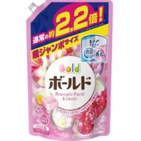 ボールド アロマティックフローラル&サボンの香りつめかえ用 超ジャンボサイズ(1.58kg)[柔軟剤入り洗濯洗剤つめかえ用(液体)]