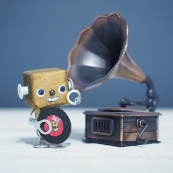 ちょこん「蓄音機」