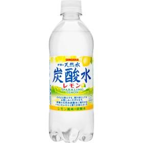 伊賀の天然水炭酸水 レモン (500mL24本入)