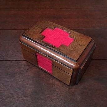 英国 ヴィンテージ First Aid Box 救急箱