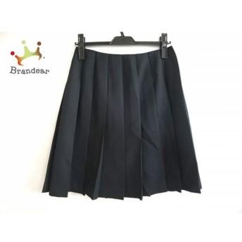 トゥモローランド TOMORROWLAND スカート サイズ38 M レディース 美品 黒 プリーツ スペシャル特価 20190730