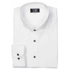 PLAY BOY ホリゾンワイドカラーシャツ ホワイト 1057-8316-1 [3L・4L・5L・6L]【大きいサイズ】【メンズ】