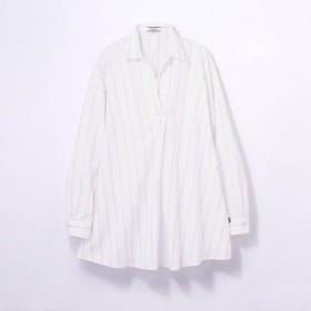 チュニック シャツ リネン レディース エーグル AIGLE 40代 30代 長袖 吸汗 速乾 おしゃれ きれいめ ピンク S M L