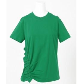 [マルイ]【セール】【2019SS インポート企画】ソフトジャージーシャーリング使い Tシャツ/カルバン・クライン ウィメン(Calvin Klein women)