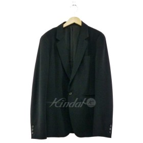 UNDER COVER 2018SS ZIPデザイン テーラードジャケット ブラック サイズ:4 (なんば店) 190316