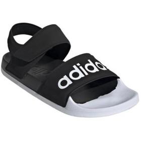 アディダス(adidas) メンズ レディース アディレット サンダル コアブラック/ランニングホワイト/コアブラック DBE70 F35416 スリッパ 靴 シューズ