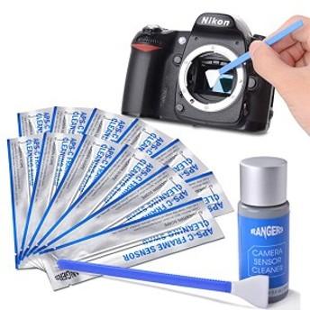 カメラクリーニング用品 12個APS-Cセンサースワブ+15mlクリーナーセット RA113