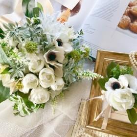 wedding bouquetanemone