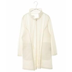 HIROKO BIS GRANDE 【洗濯機で洗える/日本製】プリモーディアル ジャケット その他 コート,ホワイト