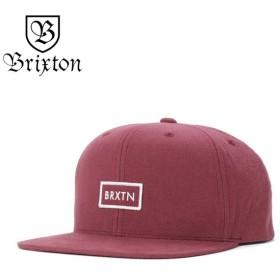 ブリクストン キャップ 帽子 スナップバック RIFT II MP バーガンディー BRIXTON メンズ