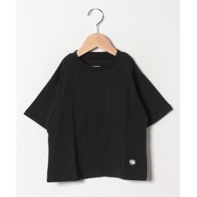 アンド ルームス ビッグTシャツ レディース ブラック 90 【&rooms.】