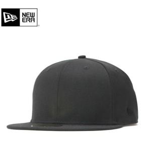 ニューエラ キャップ 帽子 59FIFTY METAL FLAG LOGO ブラック