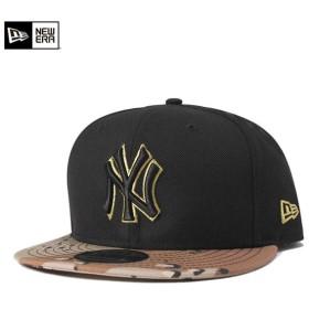 ニューエラ キャップ 帽子 NEW ERA 9FIFTY ヤンキース ブラック