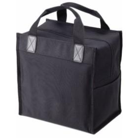 トルネ 保冷バッグ クールレジャーバッグ ボックス(BK) (エコバッグ ) P-3232