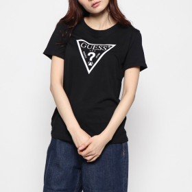 Tシャツ - GUESS【WOMEN】 [GUESS] GLOW TRIANGLE LOGO TEE