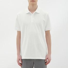 (GU)GUドライポロシャツ(半袖)CL WHITE L