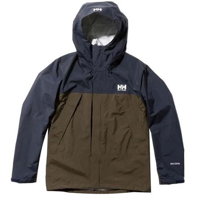 ヘリーハンセン(HELLY HANSEN) メンズ スカンザライト ジャケット Scandza Light Jacket ヘリーブルー×カーキ HOE11903 HK アウトドアウェア カジュアル