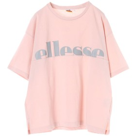 アースミュージックアンドエコロジー earth music & ecology ellesse×earthベーシックTシャツ (Pink)