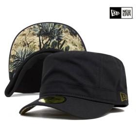 ニューエラ ワーク ミリタリー キャップ ダック ブラック 帽子