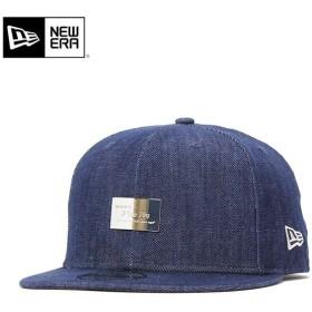 ニューエラ キャップ 帽子 METAL PLATE インディゴデニム