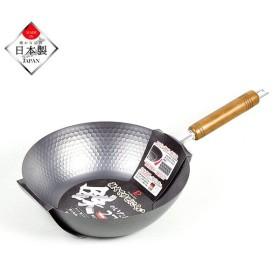 パール金属 HB-4290 窒化鉄 軽くてサビにくい 鉄のいため鍋 27cm 日本製 IH対応