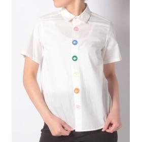 【70%OFF】フラボアメレンゲシャツレディースホワイト1【FRAPBOIS】【タイムセール開催中】