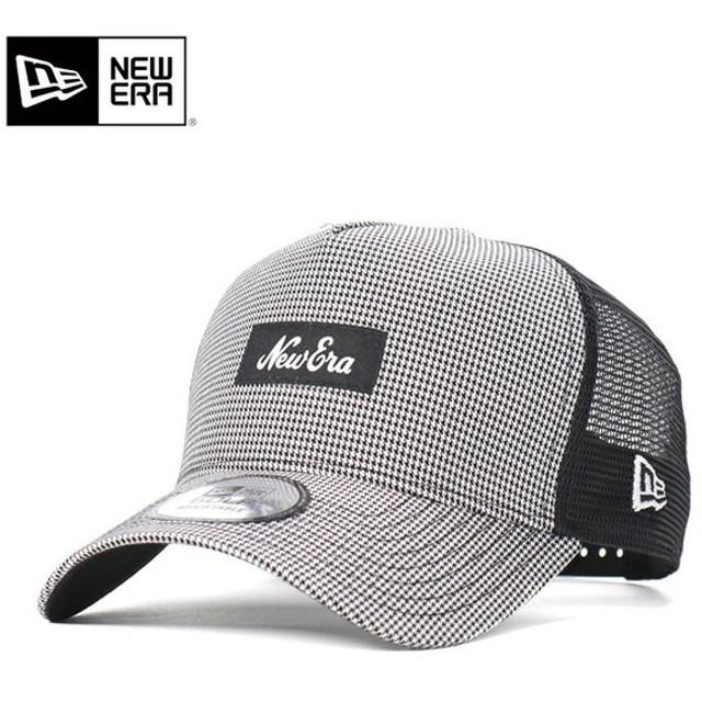 53fa0d9a340695 ニューエラ ゴルフ キャップ 帽子 スナップバック 9FORTY HOUNDSTOOTH ハウンドトゥース/ブラックメッシュ NEW ERA GOLF