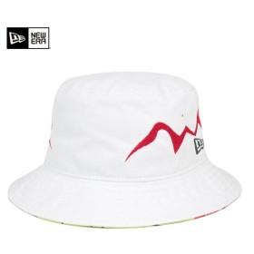 ニューエラ 岡本太郎 バケットハット タワーオブザサン ホワイト 帽子