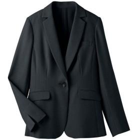 【レディース】 テーラードジャケット(選べる2レングス・接触冷感・吸汗速乾・洗濯機OK) ■カラー:ブラックB(レギュラー丈) ■サイズ:11AR,21ABR,7AR,9AR