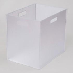 収納ケース Nインボックス タテハーフ 12個セット(クリア) ニトリ 『玄関先迄納品』 『1年保証』