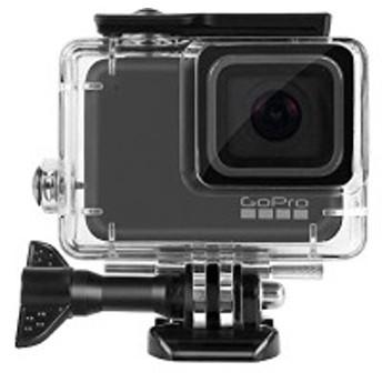 GoPro HERO 7 Silver White 防水ケース ゴープロ ヒーロー7 ホワイト/シルバー ハウジングケース 防水 防塵 水深45m 水中撮影用