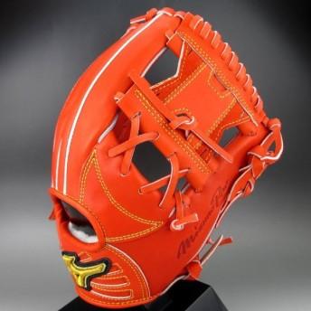 BSSショップ限定 ミズノ 一般軟式内野手用 右投げ ミズノプロ フィンガーコアテクノロジー 坂本モデル 1AJGR20213 (52)スプレンディッドオレンジ