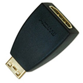 HDMI・ミニHDMI変換アダプター(HDMIメス:ミニHDMIオス)PL-HDMI-ACF