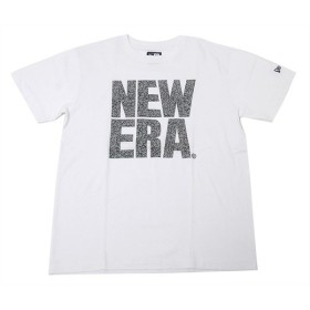 ニューエラ NEW ERA Tシャツ ビッグ ロゴ エレファント ホワイト (MB)